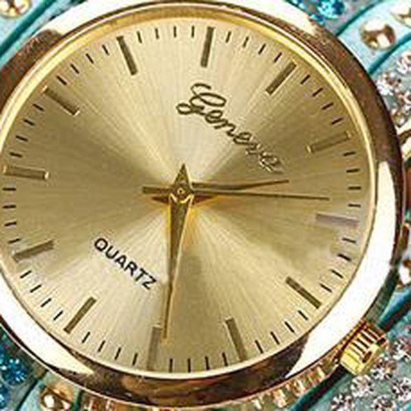 Stylové hodinky Geneva: Výběr z 8 designů.