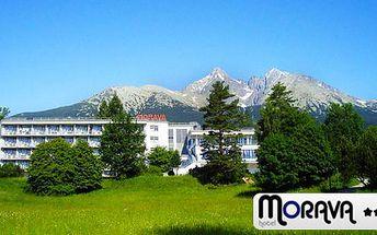 Last minute léto pro rodiny s dětmi i pro dva v Hotelu Morava** v Tatranské Lomnici