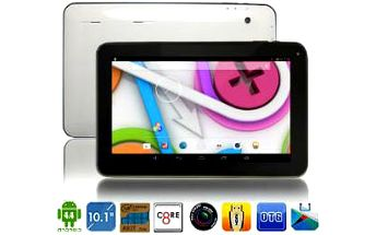 "8 jádrový 10​​"" ​tablet ​ ALL ​WINNER, Android 4.4, Dual Camera, kapacit ​a​ 16GB"