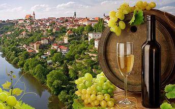 3 dny s neomezenou konzumací vína ve Znojmě, v ráji vinařů