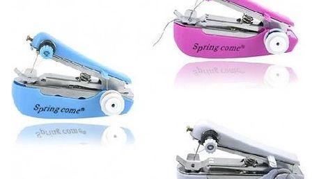 Ruční mini šicí stroj