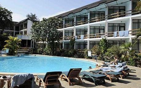 Hotel TRAVELLERS BEACH, Severní pobřeží, Keňa, letecky, polopenze