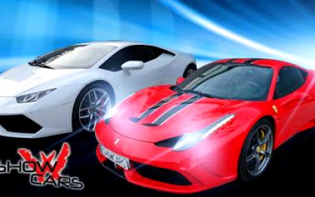 Jízda SPORŤÁKEM SNŮ včetně SPRINTU NA LETIŠTNÍ PLOŠE 300 km/h! Výběr ze 16 sportovních vozidel!