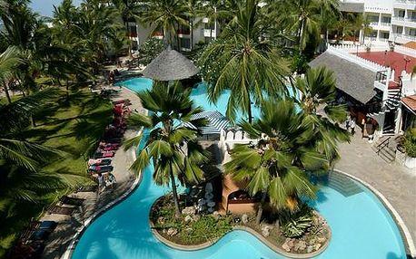 Hotel BAMBURI BEACH, Severní pobřeží, Keňa, letecky, all inclusive