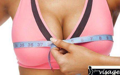 Bezbolestné zvětšení prsou Breast Lifting Plus se slevou 89 %