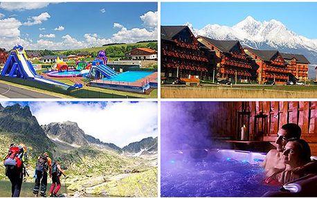 Letní prázdniny v luxusním apartmánu v Tatrách