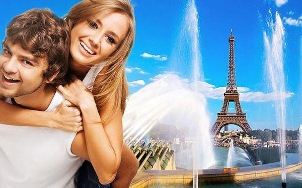 4denní zájezd do Paříže s ubytováním
