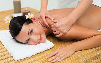 Zlatá, andělská nebo marocká masáž se slevou 72 %