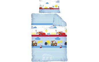 Povlečení pro miminka Cars (Auta) 135x100,40x60