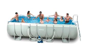 INTEX Frame Pool Set Ultra Quadra 5,49 x 2,74 x 1,32 m