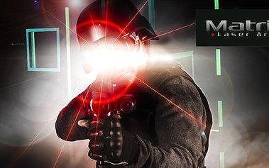 Napínavá střílečka v laser areně Matrixx