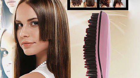 NOVINKA: Skvělý ionizační kartáč - konec stat. elektřině + žehlí vlasy
