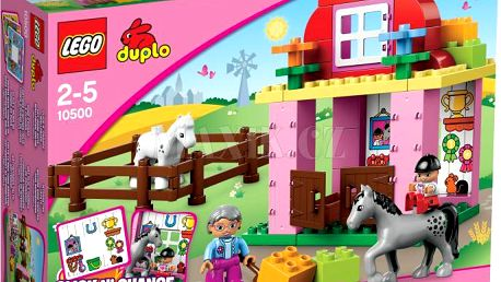 LEGO Duplo 10500 Koňské stáje