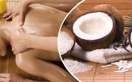 Relaxační olejová aromamasáž - něžný dárek…