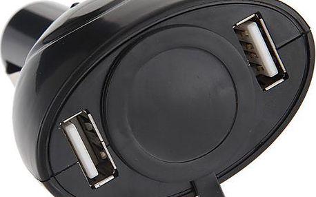 Rozdvojka do autozapalovače USB