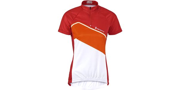 Womens Classic 10 s/sl Shirt Red/Orange, červená, S