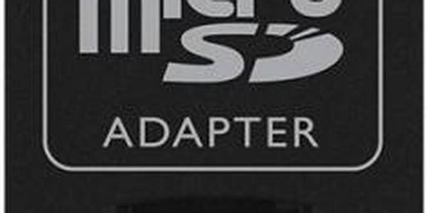 Kingston Micro SDHC 16GB Class 4 + adaptér - SDC4/16GB