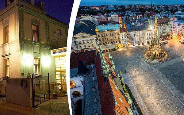 3 dny pro 2 v hotelu Lafayette Olomouc. Snídaně, konzumace v restauraci, Olomouc region Card.