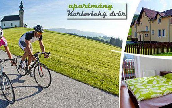 Na kole po Jeseníkách s wellness