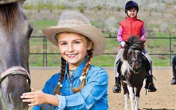 Léto s koňmi – dětský příměstský tábor na 5 dní