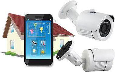 IP síťová kamera s HD rozlišením ochrání váš majetek.