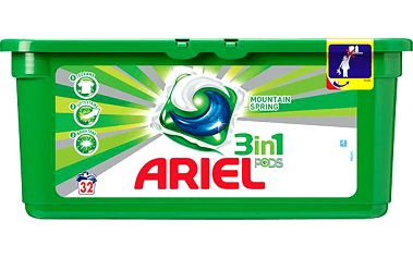 Ariel active gel Mountain Spring 32tab