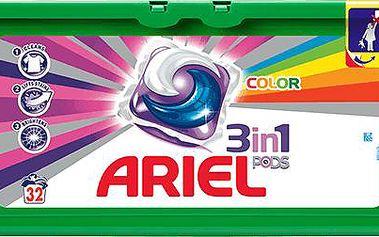 ARIEL Active Gel Color (32 ks) - gelové prací kapsle