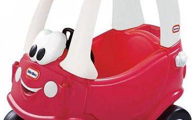 Ťapací autíčko Královské Cozy Coupe (červeno/bílo/modré)
