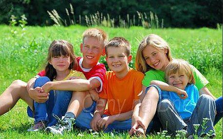 Letní tábor pro děti v Tatrách