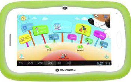 """Dotykový tablet GoGEN Maxipes Fík MAXPAD 7 G zelený (7"""", 8 GB, WF, Android 4.1)"""