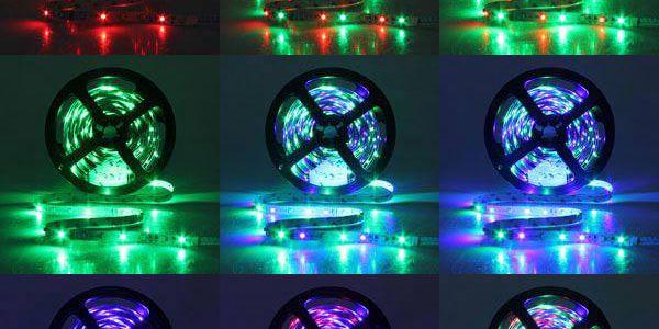 LED pásek s dálkovým ovladačem s 50% slevou!