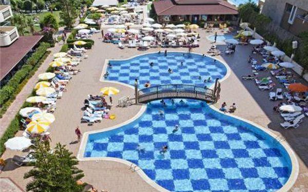 Turecko, oblast Alanya, doprava letecky, all Inclusive, ubytování v 4* hotelu na 8 dní