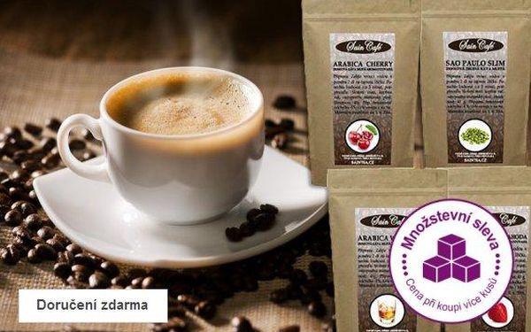 Balení čtyř druhů prémiových káv – doručení zdarma