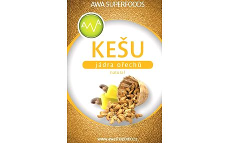 Kešu oříšky natural 1kg AWA superfoods