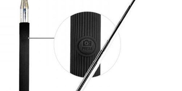 C-Tech selfie držák C-TECH MP107B pro mobil, černý