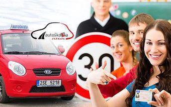 Autoškola - rychlokurz! Řidičský průkaz skupiny B do měsíce v Praze na Žižkově s výukovými materiály zdarma!