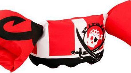 SEVYLOR Plaváček červený pirát plavací vesta