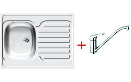 Smartshop SET dřez INTL + páková baterie ECOLINE - CHROM