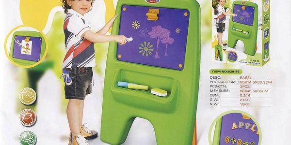 G21 Dětská tabule magnetická s klipem