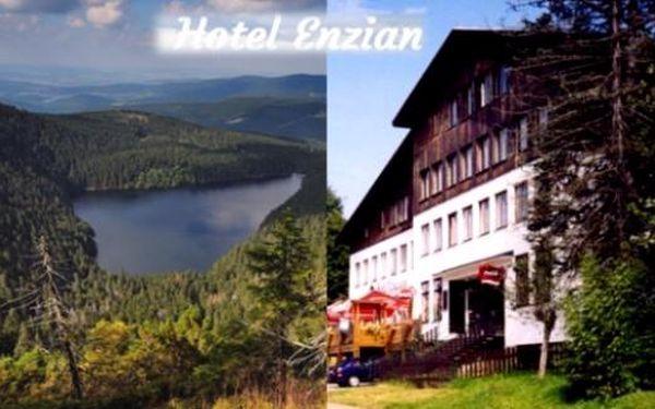 ŽELEZNORUDSKO - 4 dny v hotelu Enzian*** s chutnou polopenzí pro 2 květen-září