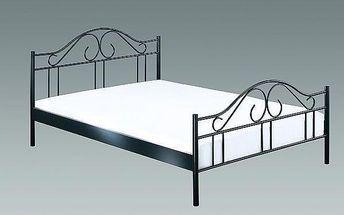 SCONTO 5994904.00 kovová postel v romantickém stylu