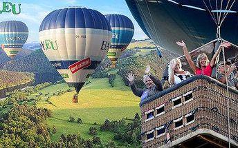Vzhůru do oblak s horkovzdušným balonem