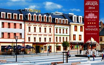3 nebo 6 dnů pro 2 s wellness nebo degustačním menu v Jeseníku v hotelu Slovan****