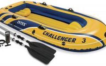 Nafukovací člun Intex Challenger 3 Set