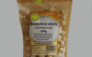AWA superfoods Makadamové ořechy 250g