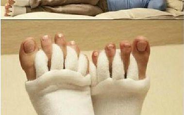 Relaxační prstové ponožky - dopřejte svým nohám odpočinek!