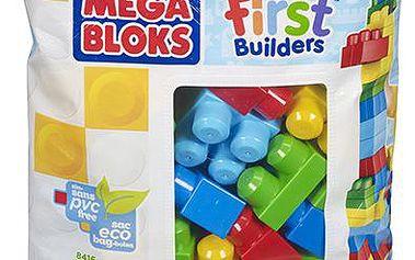 Mega - Kostky v plastovém pytli, 60 dílů