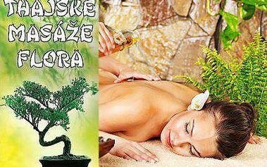 Thajská masáž na Floře za 490 Kč