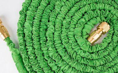Smršťovací hadice smosaznými rychlospojkami 23m