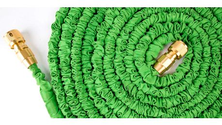 Smršťovací hadice smosaznými rychlospojkami 46m